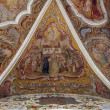 Stock Photo: Fresco paintings in the old church