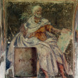 Fresco paintings in the old church — Stock Photo