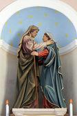 Navštívení panny marie — Stock fotografie