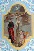 Crucifixion, Jesus on the cross — Stock Photo