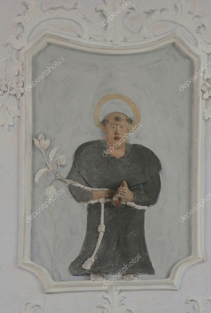 Saint Anthony of Padua  Stock Photo #4996498