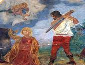 The Beheading of Saint Catherine of Alexandria — Stock Photo