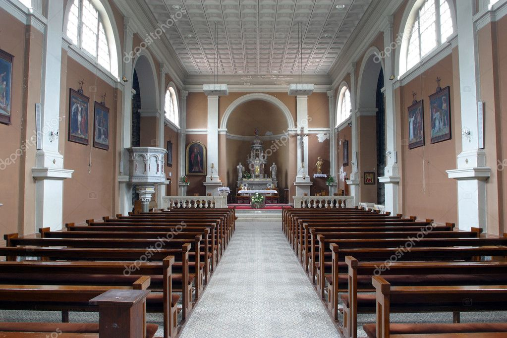 Church interior — Stock Photo #5004092