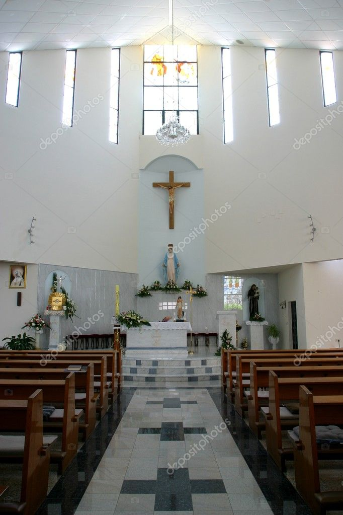 Modern church  — Stock Photo #5004619