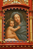 Santísima virgen maría con niño jesús — Foto de Stock