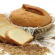 Bread products with seeds - Stock Photo