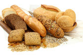 Different bread products — Stock Photo