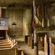 Old church interior — Stock Photo