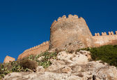Alcazaba of Almeria — Stock Photo