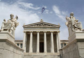Academhy of Athens, Greece — Stock Photo