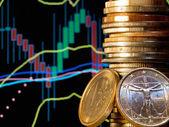 外国為替の市場 — ストック写真