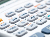 Scientific calculator — Stock Photo