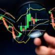Stock analysis — Stock Photo