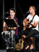 Dueto musical — Foto Stock