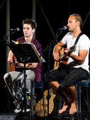 Muzikale duet — Stockfoto