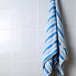 Towel hanger — Stock Photo