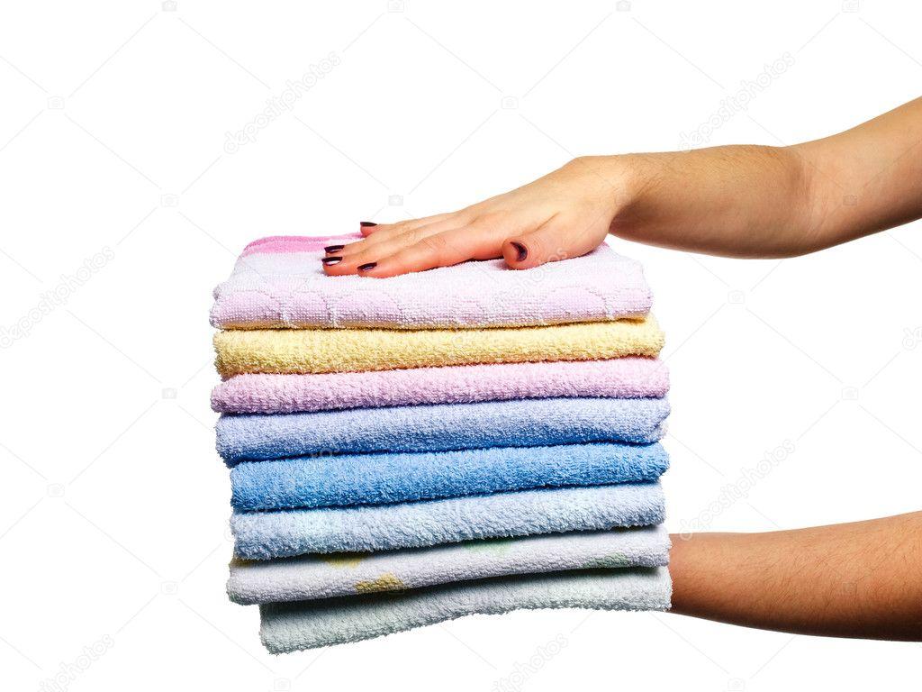Как сделать махровые полотенца жесткими 793