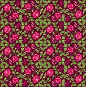 Çiçek pattern — Stok Vektör