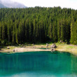 Lago di Carezza - Stock Photo
