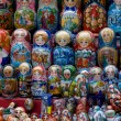 Russian matryoshka — Stockfoto