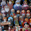 Russian matryoshka — Stock Photo