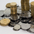 Ukrainian small coins — Stockfoto