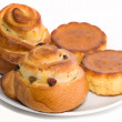 Sweet buns — Stock Photo