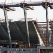 Stock Photo: Reconstruction of Olimpic Stadium in Kiev