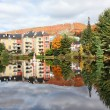 Fall Season in Mont-Tremblant, Quebec, Canada — Foto de Stock