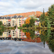 Fall Season in Mont-Tremblant, Quebec, Canada — 图库照片
