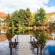 Fall Season in Mont-Tremblant, Quebec, Canada - 