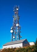 Communication Tower — Stock Photo