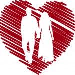 Couple in love — Stock Vector #3944270