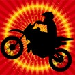 Motorcyclist - Stock Vector
