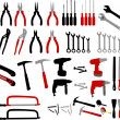Tools collection - Stock Vector