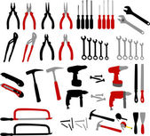 Tools collection — Stock Vector