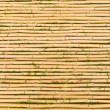 Bamboo Mat with Horizontal Sticks — 图库照片