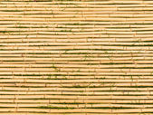 Bamboo Mat with Horizontal Sticks — Stock Photo