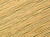 Bamboo Mat Angled Sticks — Stock Photo