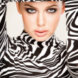 Zebra fashion — Stock Photo #4557570