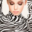 Zebra fashion — Stock Photo #4557618