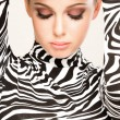 Zebra fashion - Stock Photo