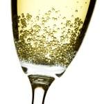 Champagne flute closeup — Stock Photo #4557671