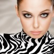 Royalty-Free Stock Photo: Zebra fashion