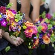 Stock Photo: Bridal Party Flowers