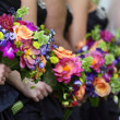Bridal Party Flowers — Stock Photo #4128257