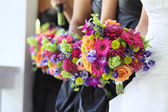 Bridal Party Flowers — 图库照片