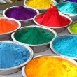 Holi Colors - Stock Photo