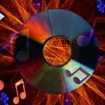 Digital Entertainment Background — Stock Photo