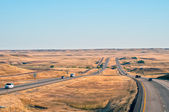 Interstate 25 in Wyoming, USA — Stock Photo